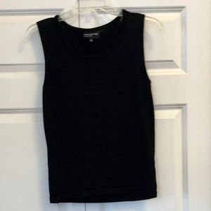 Women's Black Sleeveless Shell
